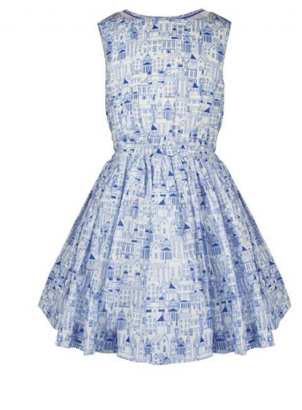 Alexandra - London Print Dress